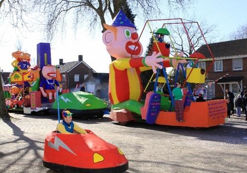carnaval vanuit vinkel